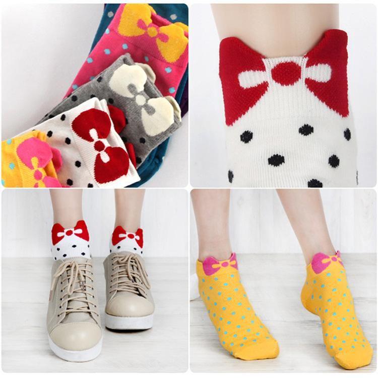 214dc7d3f5c Warm Comfortable Cotton Bamboo Fiber Girl Women s Socks Ankle Low ...