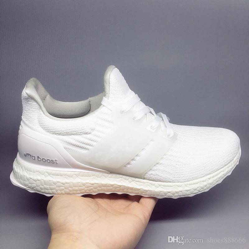 a3bbea5db Ultra Boost 3.0 4.0 Triple Black And White Primeknit Oreo CNY Blue Grey Men  Women Running Shoes Ultra Boosts Ultraboost Sport Sneakers Cheap Youth  Running ...