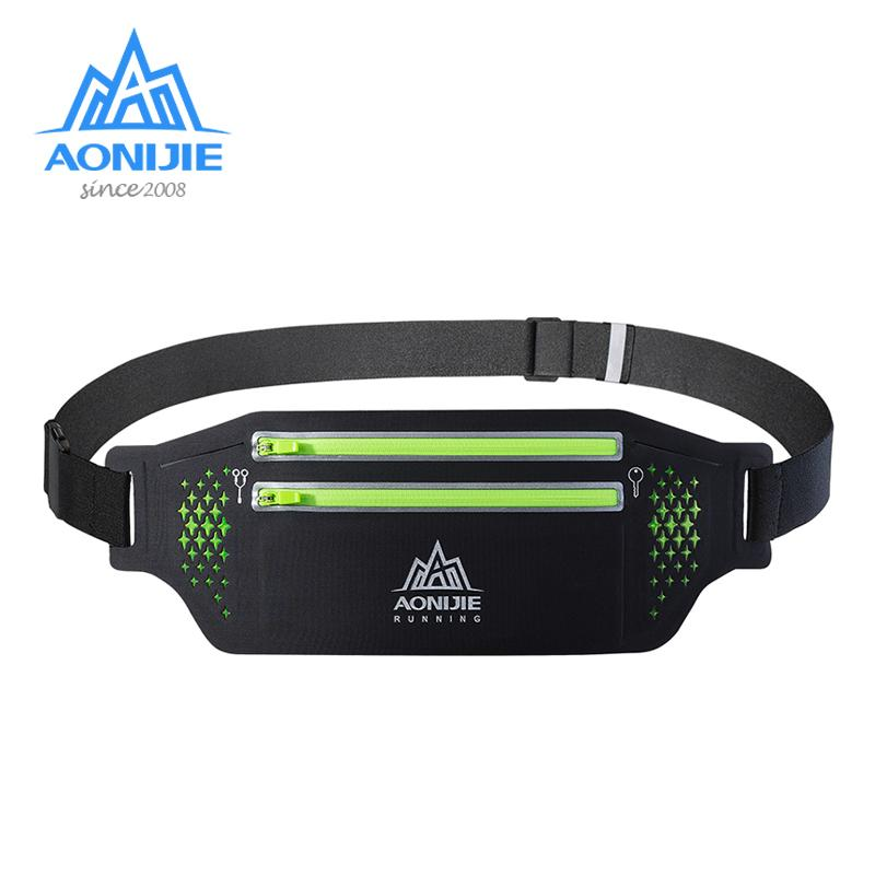 ffd85110f15e 2019 AONIJIE W946 Flexible Running Waist Belt Aerobic Special Bag Travel  Marathon Gym Workout Fitness Wallet Key 6.9 In Phone Holde From Moonk