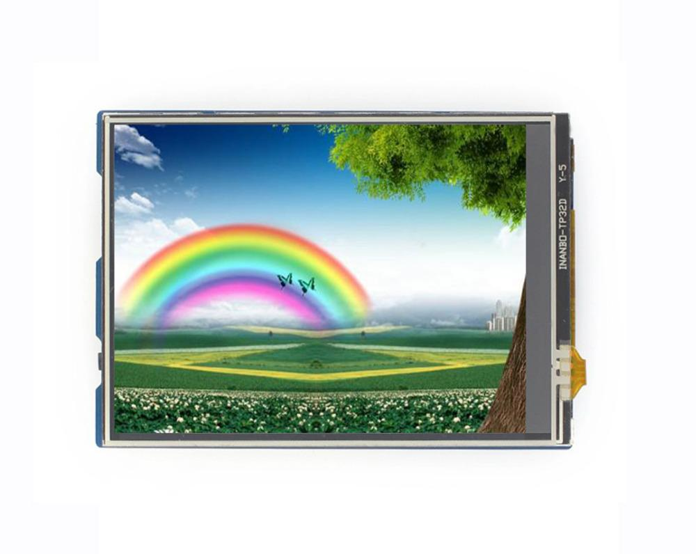 3 2inch Touch LCD Shield for Arduino Resistive touch screen TFT LCD  Standard Arduino interface Controlled via SPI Micro SD slot