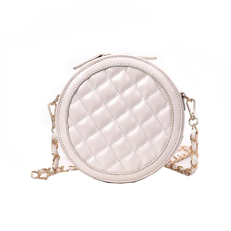 6a30019443d8 rhombic chain small round women s messenger bags female 2019 new wave  summer new versatile super fire crossbody bag
