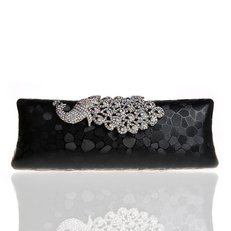 New Peacock Evening Bag Women Bling Rhinestone Cosmetic Bag Elegant Noble  Girl Makeup Socialite Party Lady Birthday Gift Cosmetic Companies Cosmetic  ... f991f2bacec9