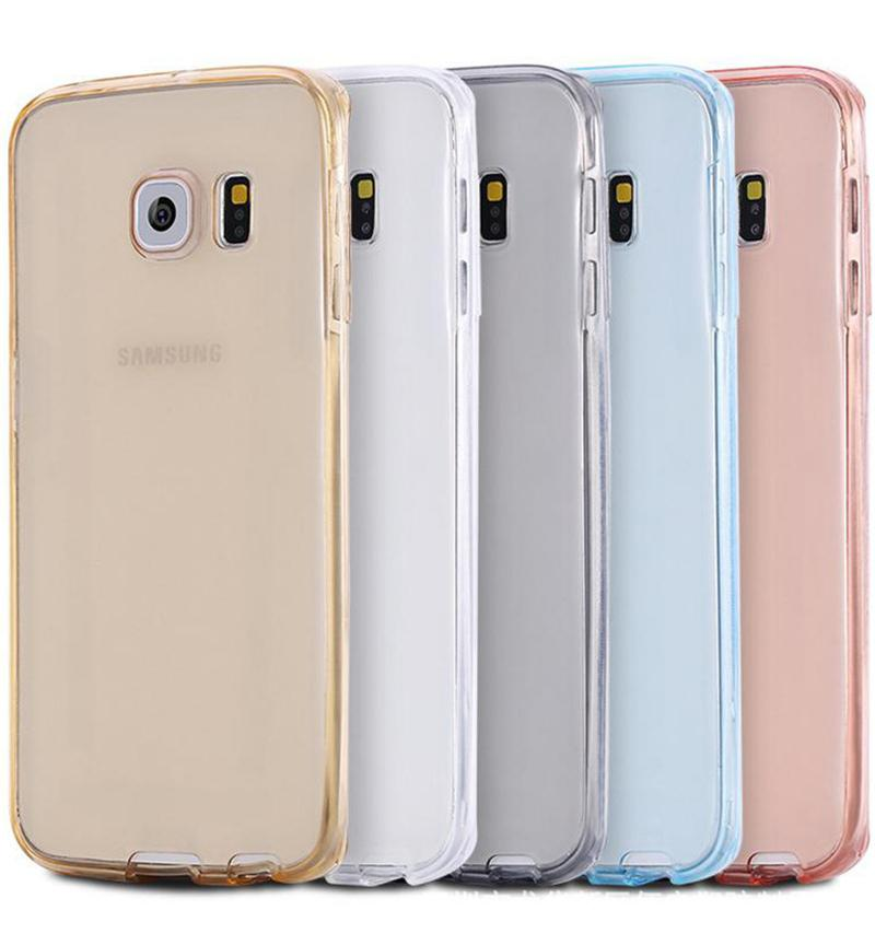 the best attitude cd848 5bae2 Cell Phone Case for Samsung galaxy S3 duos S4 S5 neo S6 S7 edge S8 Plus  Note 3 4 5 8 9 Core Grand Prime 360 Full Clear Cover