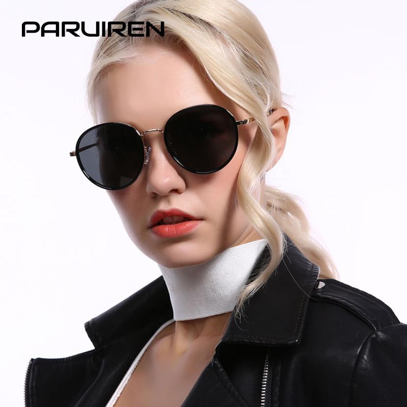 cdcf9fcdb6 2019 Brand Designer Sunglasses Women Vintage Female Polarized Sun Glasses  Round Frame Gradient Lens Ladies Eyewear UV400 Shades Prescription  Sunglasses ...