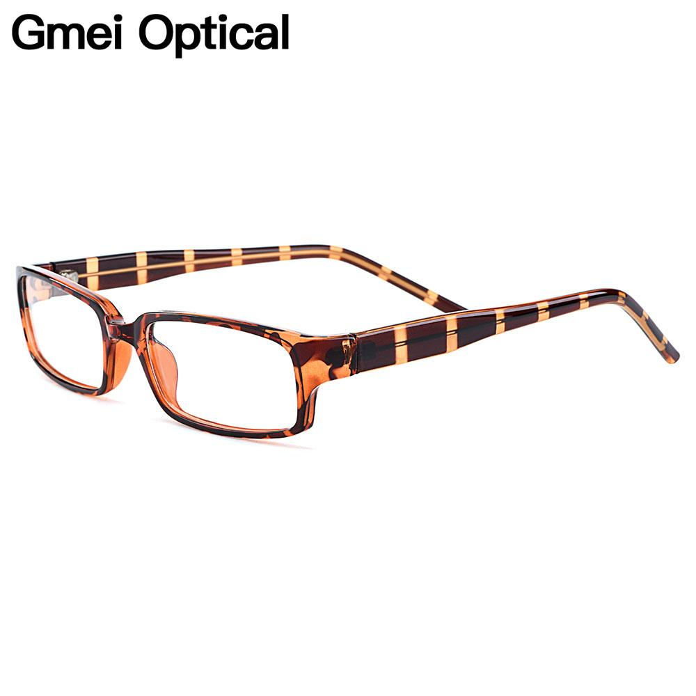 ab1649e879 2019 Gmei Optical Trendy Rectangle Full Rim Plastic Glasses Frames For Men  And Women Myopia Presbyopia Prescription Eyeglasses H8007 From  Marquesechriss