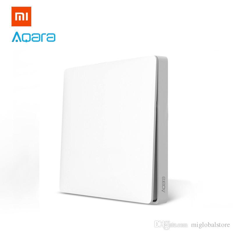 Xiaomi Aqara Wireless Switch Single Button Key Smart Light Control ZigBee  Version for Mi Home APP Gateway Put It Anywhere