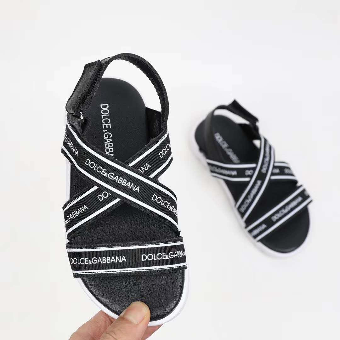 49456ec5e Girl Sandal Leather Girl Wedge Platform Sandals Designer Child Girl ...