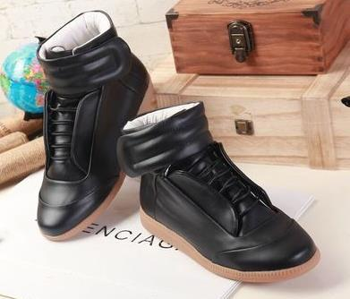 High Sneaker Martin Top Man High Shoes Maison Margiela Quality Men 2WE9DHI