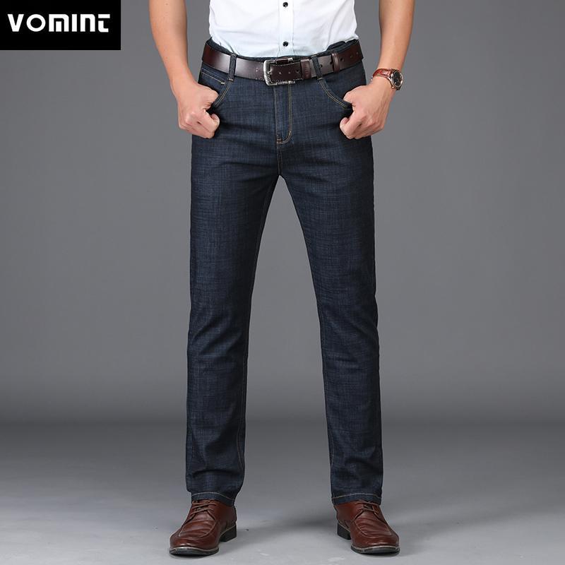 Acheter VOMINT New Jeans Pour Hommes Design De Style Professionnel  Élastique Élégant Décontracté Régulier Droite Jeans Longs MS1802 De  44.28  Du Movearound ... a44bf0dfb13d
