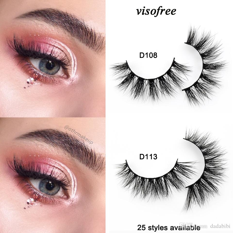 ff0f1576aff Eyelashes 3D Mink Lashes Handmade Full Strip Lashes Luxury Mink Eyelashes  Makeup Lash Maquiagem Faux Cils Eylure Lashes How To Put On False Eyelashes  From ...