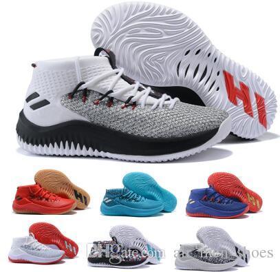 44bc58d31f17b Acheter Fashion Dame 4 Chaussures De Basket Ball Baskets Hommes Homme 2018  Top Brown Camp Statique Rose City Lillard 4s IV Ultra Formateurs Chaussures  De ...