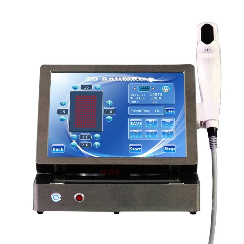 Máquina 3D Hifu 2D, tratamiento facial y corporal, estiramiento facial, adelgazamiento corporal, adelgazamiento, equipo de ultrasonido enfocado de alta intensidad