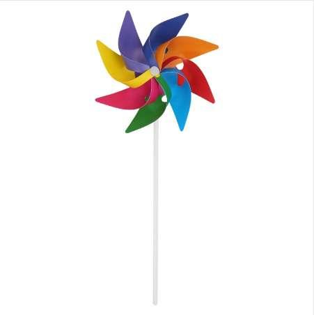 Garden Yard Party Camping Windmill Wind Spinner Ornamento Decorazione Kids Toy Nuovo