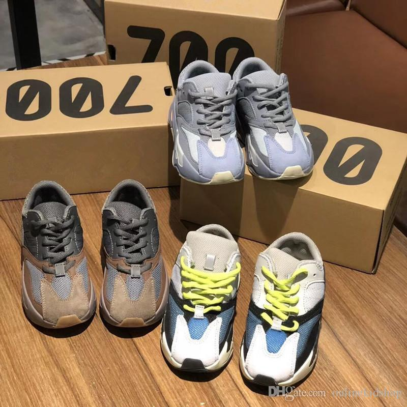 3b45aa1d7 Kanye West Mauve Infant 700 Kids Runs Inertia Toddlers Running Shoes  Sneakers Children WAVE RUNNER SOLID GREY Toddler Girl Tennis Shoes Boys  Track Spikes ...