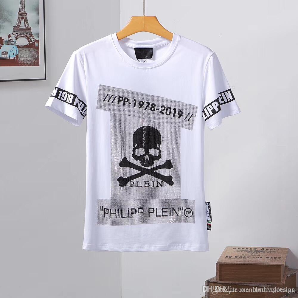 da4fcd357a5 2019 D2 Italian Brand Men'S Wear Designer T Shirt, Summer And Autumn Fashion  Men'S Wear Skeleton Pp T Shirt, D2 Short Sleeved Spor Novelty T Shirt Funny  ...