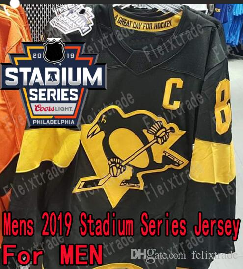 49fc62147 2019 Pittsburgh Penguins 2019 Stadium Series Jersey Sidney Crosby Jake  Guentzel Evgeni Malkin Casey DeSmith Kris Letang Patric Hornqvist Rust From  ...