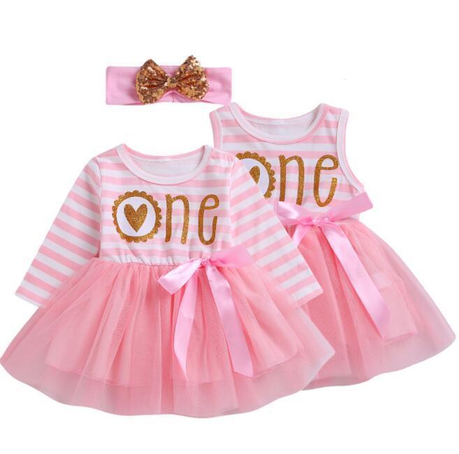 d6fda48c5 Compre Ropa De Bebé Niña Vestidos De Verano Para Niños Carta Stripe Pink  Skirt Kdis Ropa Princesa Falda Ropa De Diseñador Para Niños Niñas BY0826 A  $7.52 ...