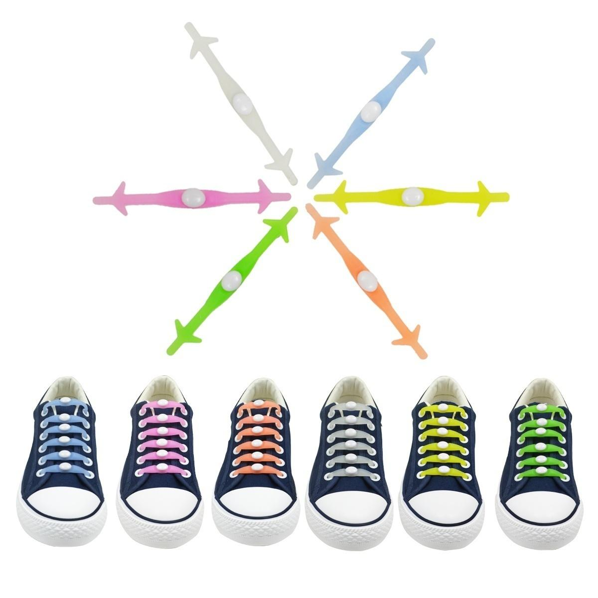 c7f15de794fe 2019 New Silicone Luminous Shoelace Glow In The Dark Colorful Fluorescent  Sport Shoelaces Adult Kids Children Party Birthday Gift From Keyigou2