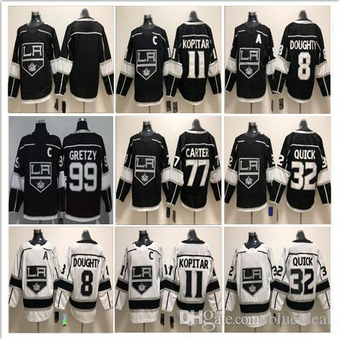 2a9908381 2019 Mens Women Kids Hockey LA Los Angeles Kings Jerseys 11 Anze Kopitar 8  Drew Doughty 32 Jonathan Quick 77 Jeff Carter Jerseys Accept Customize From  ...
