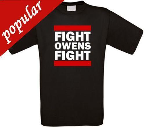 2018 Summer Style FANMADE T-Shirt von Fight Owens Fight Wrestling