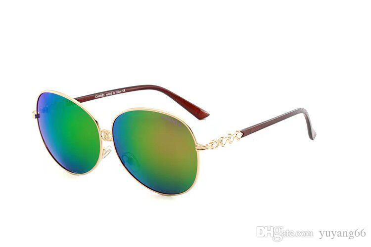 74a69b261 Compre Alta Qualidade Novo Óculos De Sol Dos Homens De Vidro Dos Homens  Personalidade Tendência Pequena Praça Quadro Cor Película UV Óculos De  Proteção 4214 ...