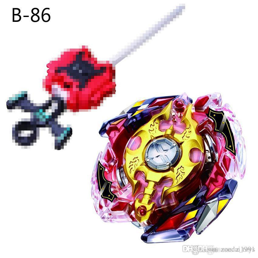 New 4D Beyblade Burst Toys Arena Beyblades Toupie Metal Fusion Avec Lanceur God Spinning Top fighting gyroToy B-86 B-92