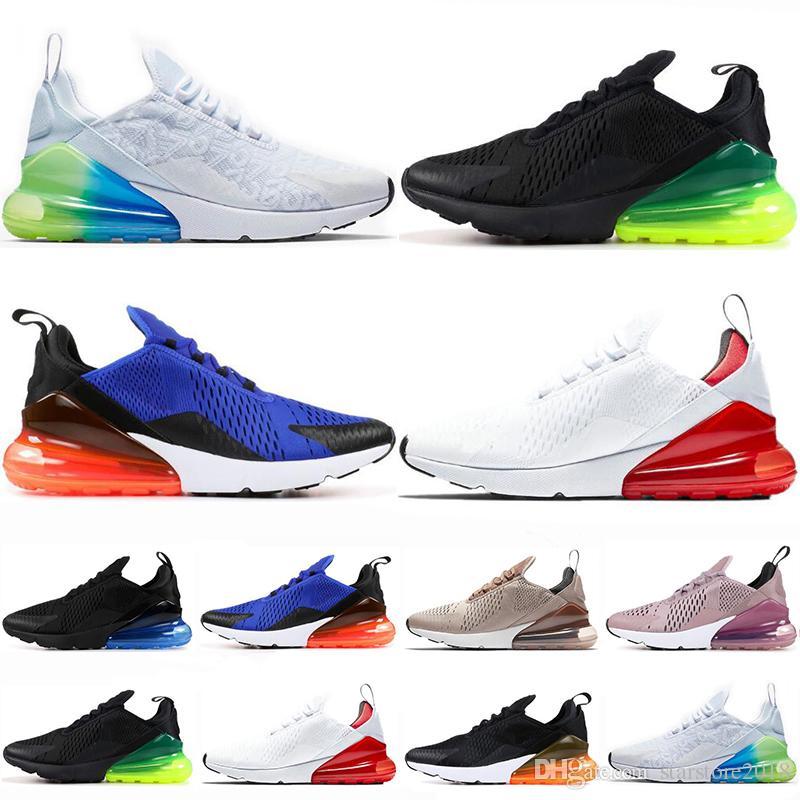 best service c3617 1db84 Nike Air Max 270 Tiempo Limitado 270 Zapatillas Para Hombre Just Do It  Marrón Violeta Blanco Rojo Mujer Zapatillas De Deporte Para Hombre  Entrenadores ...