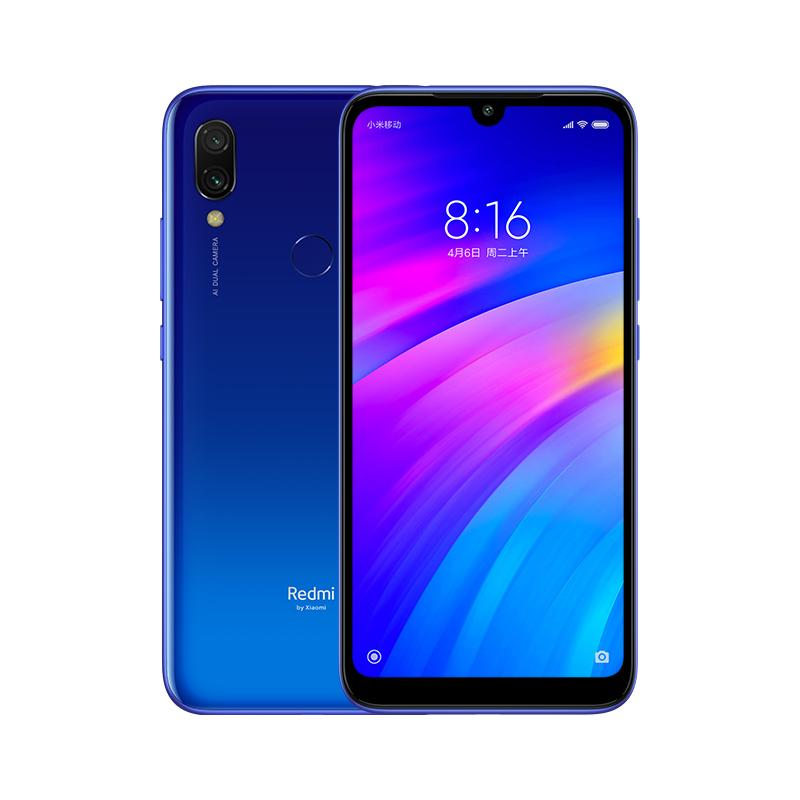 "6.26"" Dot Drop Full Screen Xiaomi Redmi 7 4G LTE Octa Core Snapdragon 632 2GB 16GB Android 9.0 12.0MP AI Dual Rear Camera 4000mAh Smartphone"