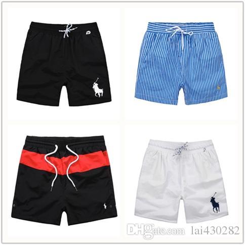 deb5a5790ab Men's Beach Pants Brand 17 Style Horse Designer Shorts Summer Brand ...