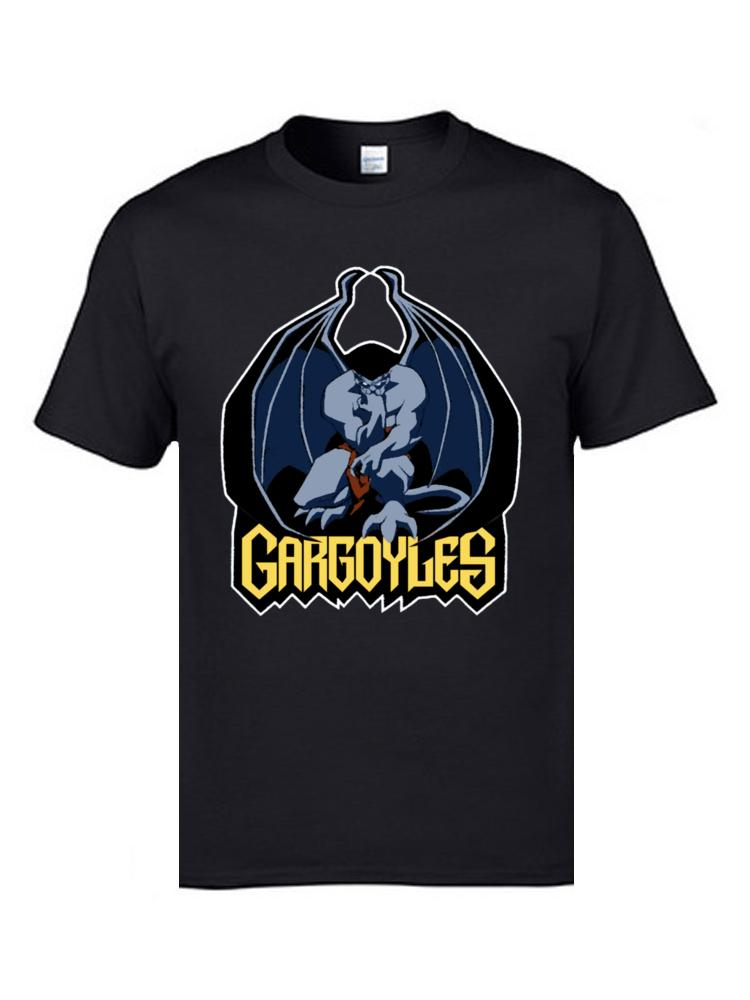 Gargoyles Goliath Top T-shirts Anime Funny Design Demogorgon T Shirt Novelty Tshirts Mens Tees