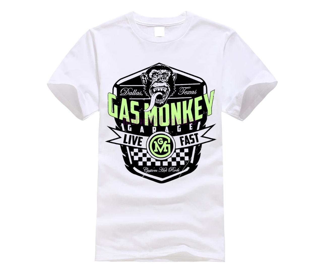 cafcccfe7 GILDAN 2019 NEW Shirt GAS MEN Shirt MONKEY Garage Live Fast Unisex Official  T Shirt Brand New Various Sizes TV Best T Shirt Online Buy Funky T Shirts  Online ...