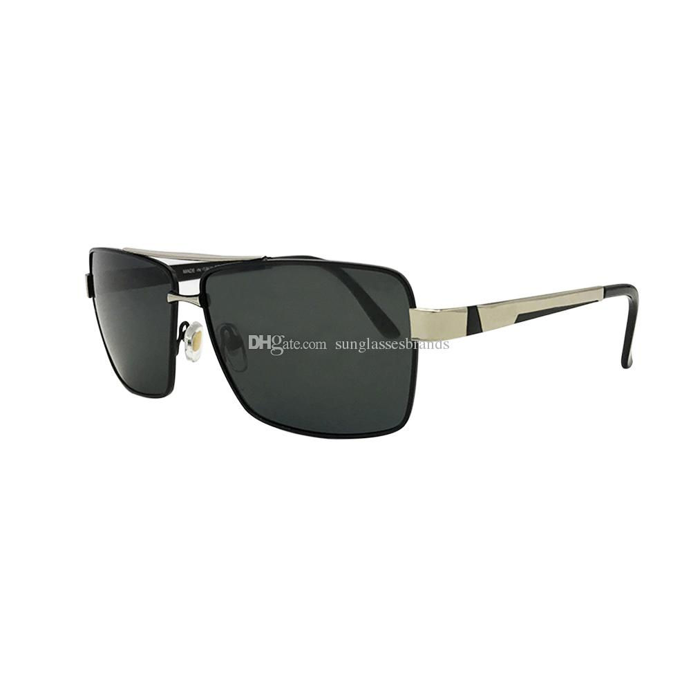 37c0e1e5bf7 KUPNEPO Mens Luxury Sport Polarized Brand Designer Sunglasses Business  Glasses Black   Silver Gradient Fast Ship PRA3 Cycling Sunglasses Running  Sunglasses ...