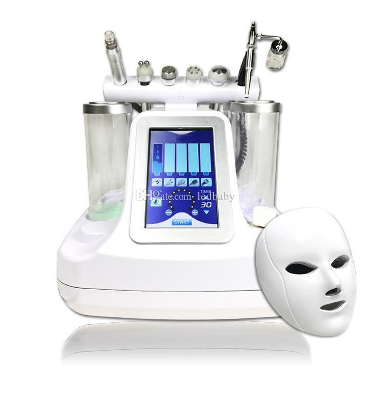 7 in 1 bio rf hammer hydro microdermabrasion 5 in 1 water hydra dermabrasion 6 in 1 spa facial skin pore cleaning machine