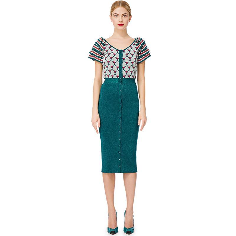 finest selection ab3bf 8d61c Vestito lungo da donna stile primavera maglione sottile modello di amore  maglione lavorato a maglia sottile stile Streetwear rosa
