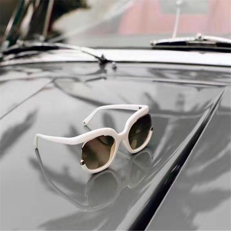 4980d3047 Compre Populares Novos Óculos De Sol 863 Mulheres Projetam Óculos Grandes  Especialmente Concebidos Rodada Quadro Alta Popularidade Nobre E Elegante  Estilo ...