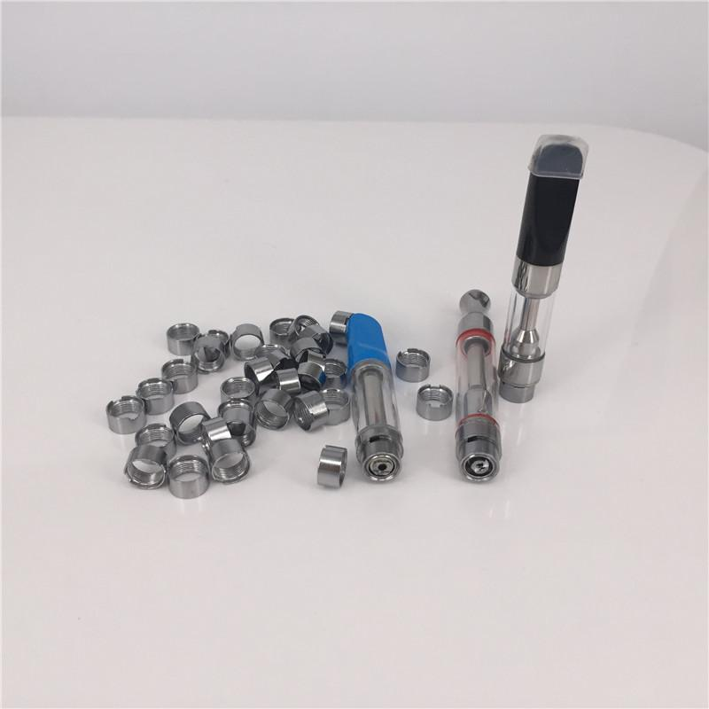 Disposable 510 thread Magnetic adapter H10 Metal Rings for vape cartridges  Ego thread vape pen glass tank CE3 Th205 C9 M6T
