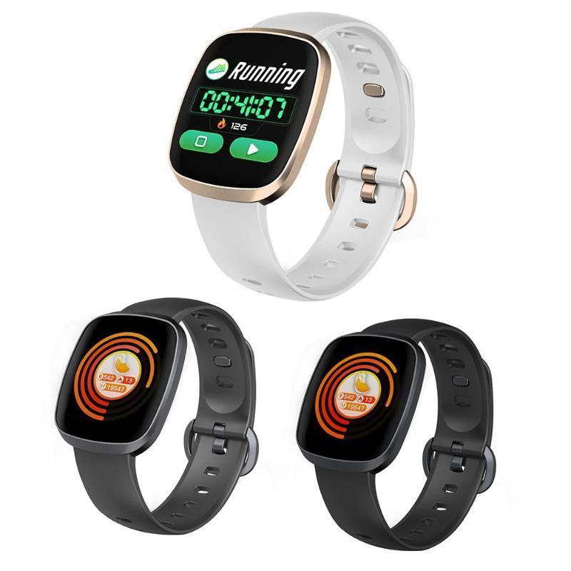 a06c988a8f78 GT103 Smart Watch Presión Arterial Impermeable Rastreador de Fitness  Monitor de sueño Control de música Pantalla completa Banda inteligente  táctil ...