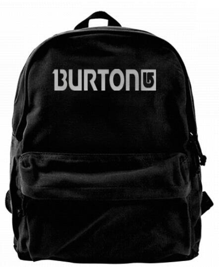 f5ff71b300 Acquista Burton Snowboard Skateboards Fashion Canvas Designer Zaino Uomo  Donna Adolescenti College Travel Daypack Borsa Nera Il Tempo Libero A  $19.07 Dal ...