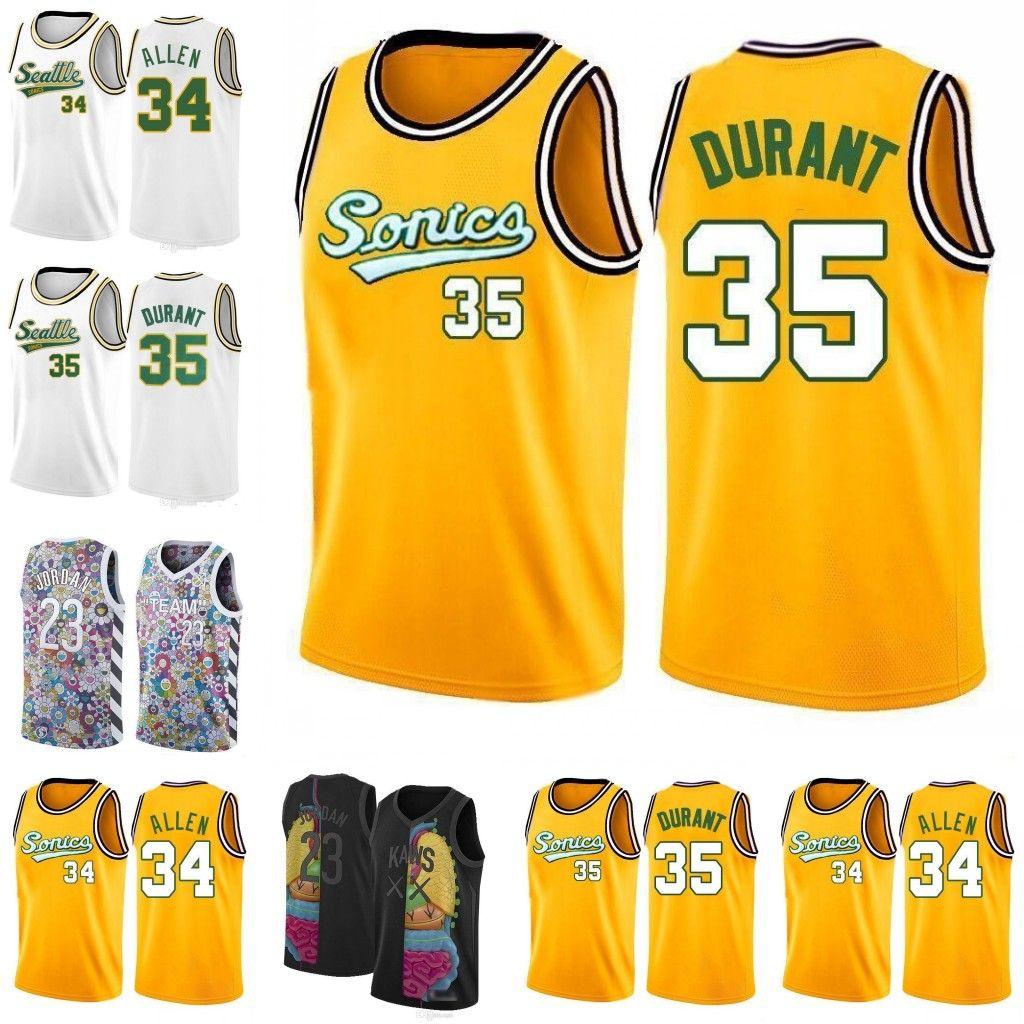 finest selection 37fe0 f617b Milwaukee New Bucks Giannis 34 Antetokounmpo Jersey Kevin 35 Durant Golden  Yellow State White Warriors Basketball Jerseys