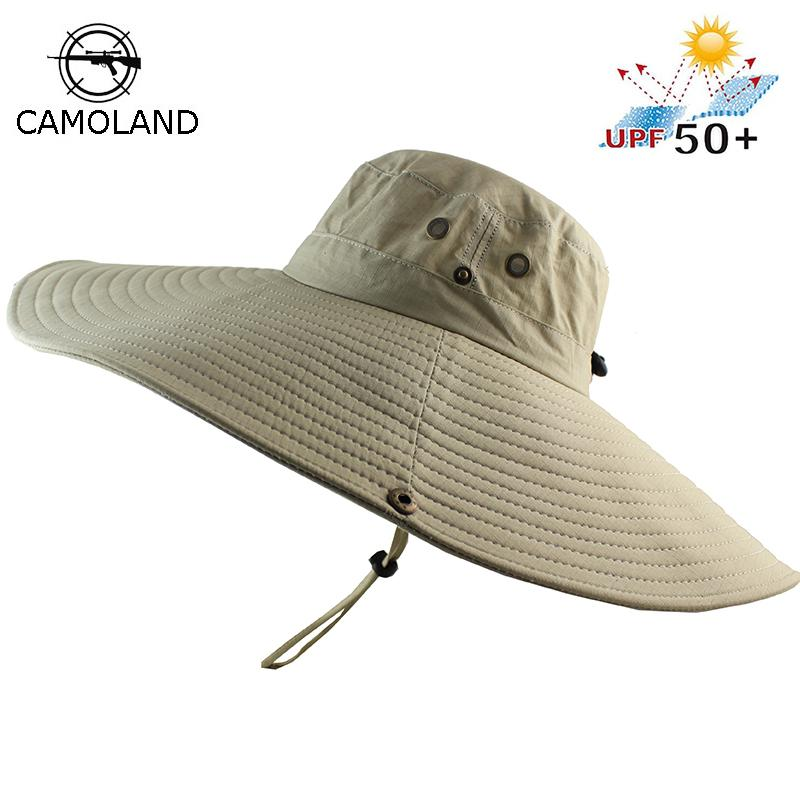 3ca713ec2c77f 16cm Long Wide Brim Bucket Hat Breathable Quick Dry Men Women Boonie Hat  Summer UV Protection Cap Hiking Fishing Sun Hat Beach Beach Hat Church Hats  From ...