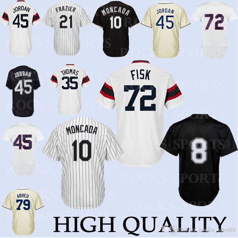 a054cc9e7 Chicago White Sox Jerseys 8 Bo Jackson Jersey 21 Todd Frazier 35 ...