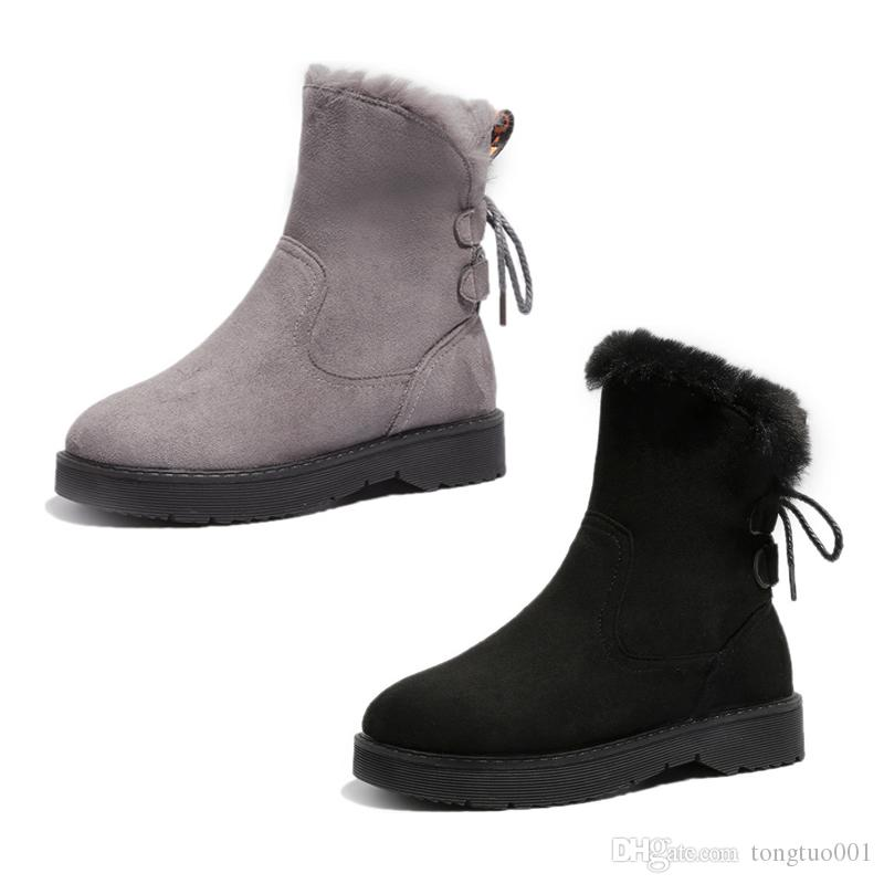 da32e47982a89 2019 Lotesly New Women Boots Australia Classic Snow Boots Tall Leather  Casual Fashion Girl Winter Keep Warm Size 35 39 HOT SALE Boots For Women Black  Boots ...