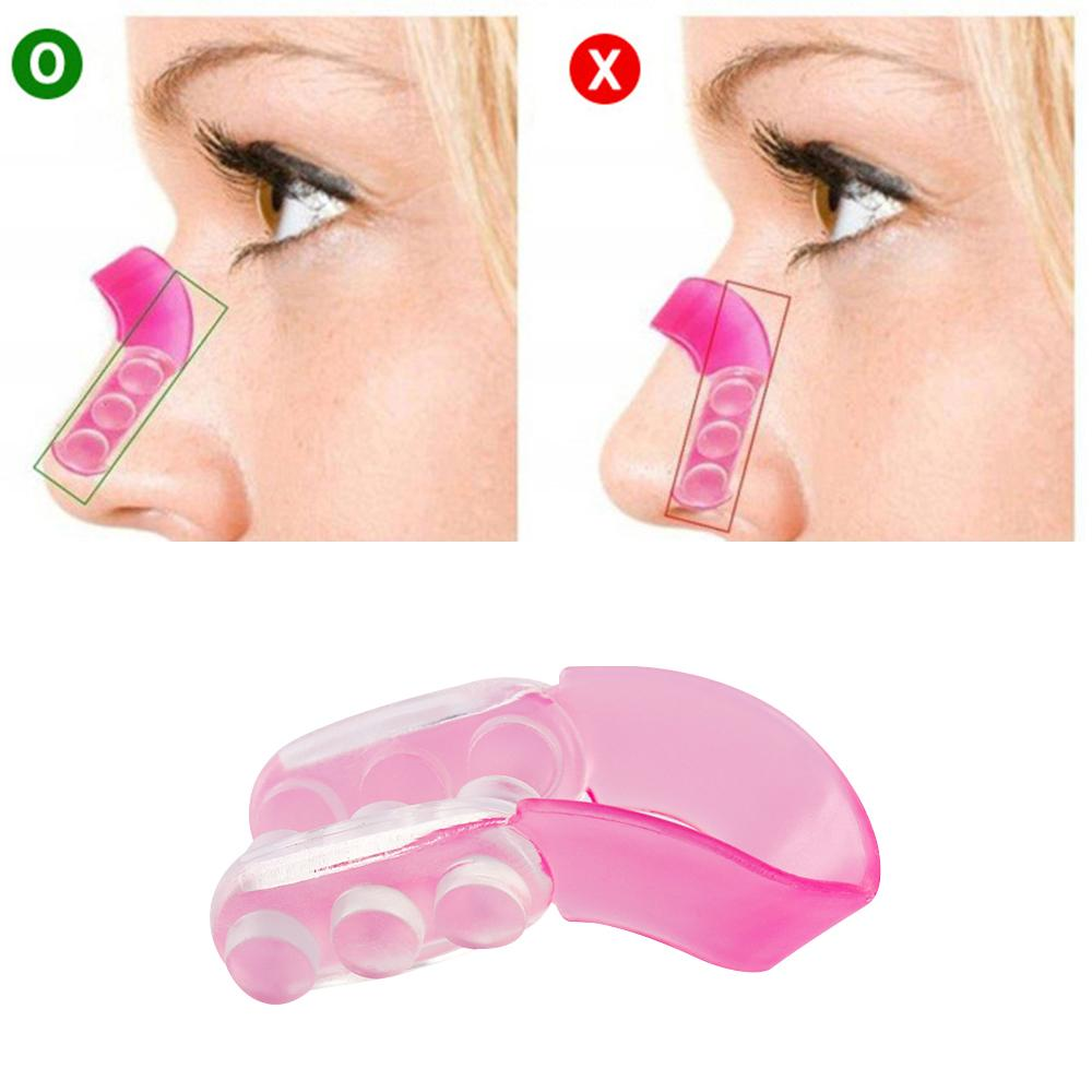 1PC Silicone Nose UP Japan Lifting Shaping Clipper Bridge Straightening Beauty Care Clip Nose Shapers Massage Tools
