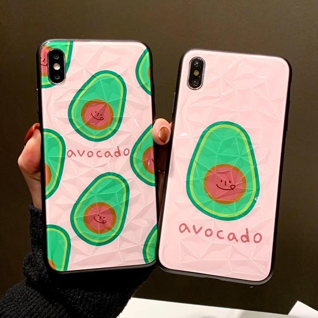 coque iphone x avocado