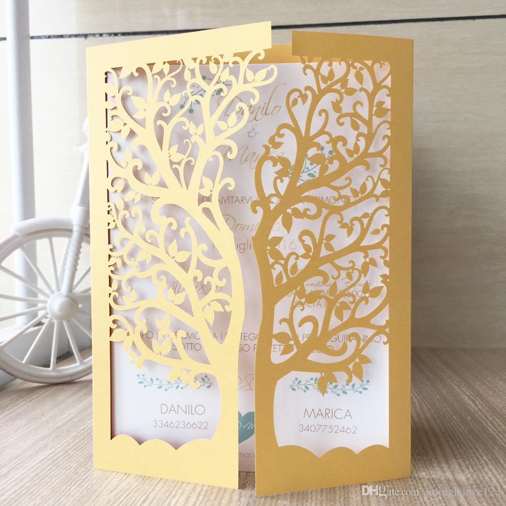 Открытка из бумаги дерево