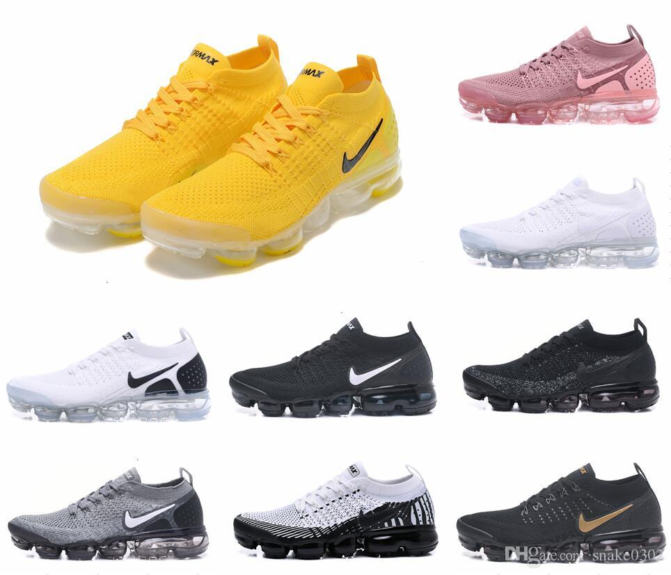 Moc 2 Releasing Mens Shoelace yellow Triple Black Running Shoes For pink Women University Red Sneakers Sports Trainers oreo Racer Shoe