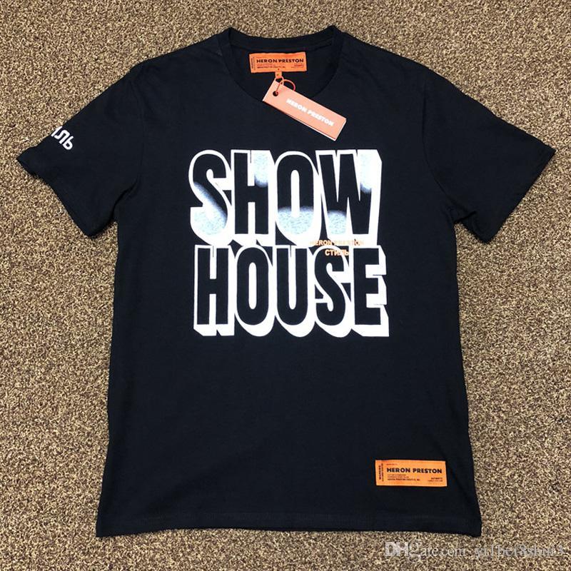 Preston Vrouwen shirt Mannen Harajuku Show House Tshirt T Heron TFc1KlJ