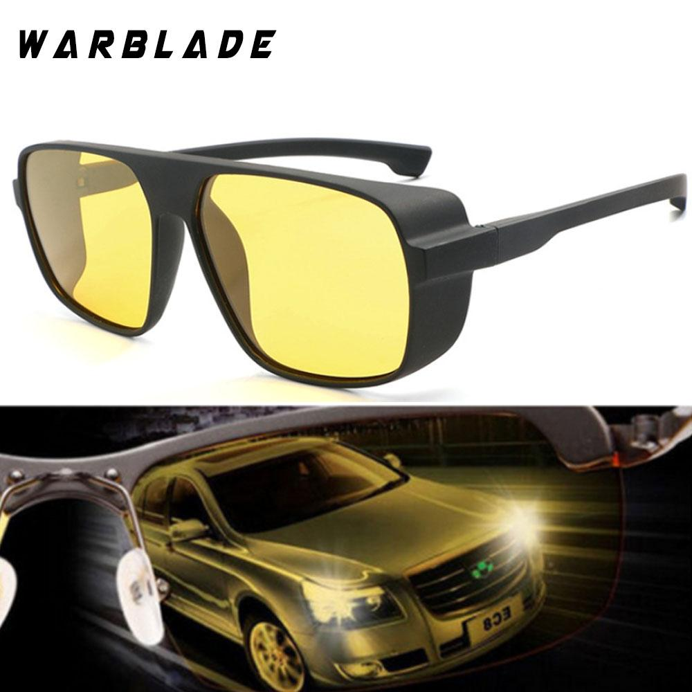 22a1a75fe09 Night Vision Glasses For Headlight Polarized Driving Sunglasses Yellow Lens  UV400 Protection Night Eyewear For Driver 2019 Oversized Sunglasses Best ...