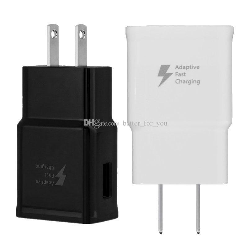 8420c3a9b95 Bateria Portatil Celular Cargador Rápido 5V 2A UE EE. UU. Plug Usb  Adaptador De Cargador De Viaje De Pared Cargador Universal Para El IPhone 7  Samsung Note8 ...