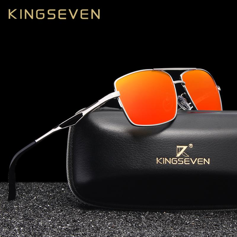 44b763afb9c3 KINGSEVEN 2019 Brand Designer Polarized Sunglasses For Driving Men Oculos  Square Sun Glasses For Men S Fashion Travel Eyewear Discount Sunglasses  Sports ...